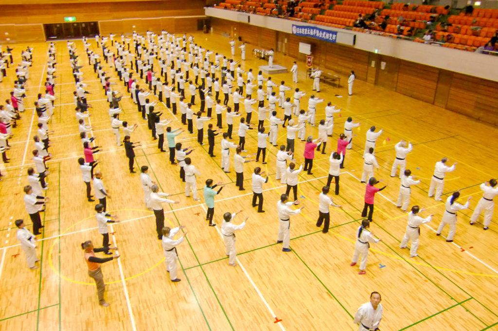武相支部太極拳春の集い